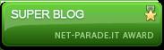 Riconoscimento Super Blog Web